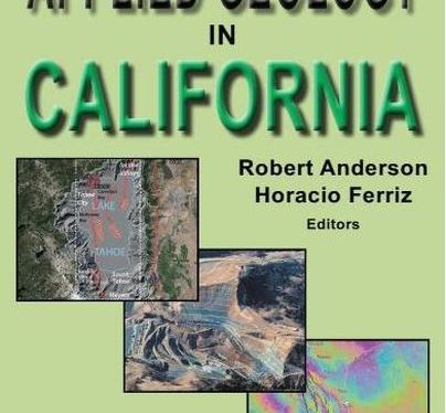 Just Published: Applied Geology in California