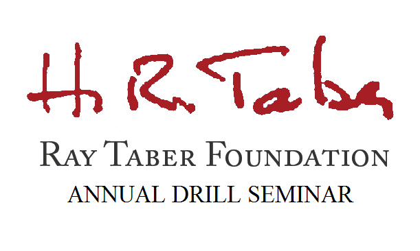 Save the Date and Call for Sponsors and Presenters: 2020 Annual Ray Taber Foundation Drill Class February 28th!