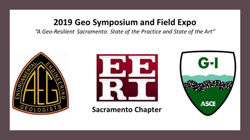 AEG/EERI/ASCE-GI 2019 GeoSymposium Initial Announcement & Call for Abstracts